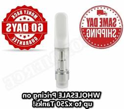 white 1 0ml ccell type oil cartridge